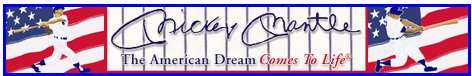 The Official Mickey Mantle Web Site